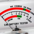 Car battery tester — Stock Photo #9731664