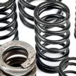 Stock Photo: Steel springs