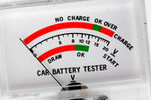 Car battery tester — Stock Photo