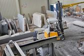 Machinery to work with marble — Stock Photo