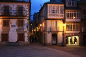 Small town on the coast of Galicia (Viveiro, Spain) — Stock Photo