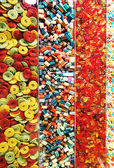 Display multi-colored candy — Stock Photo