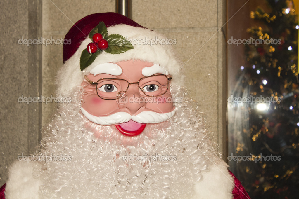 Man santa claus at Christmas — Lizenzfreies Foto #8126524