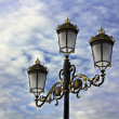 Stock Photo: Streetlight old