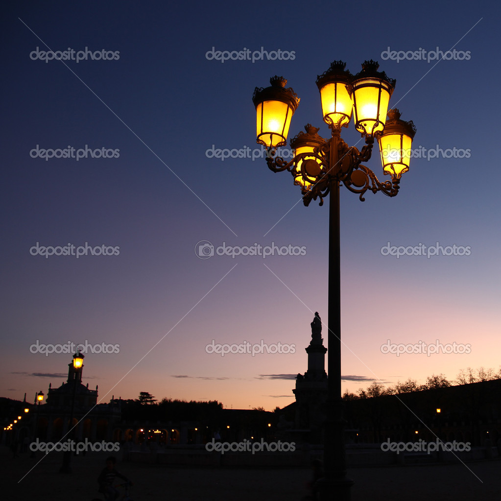 Streetlight old — Stock Photo #8293959