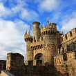 Medieval Templar Castle of year 1178 in Ponferrada, Spain — Stock Photo #8840850