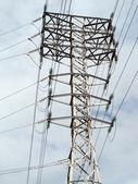 Power line towers — Stock Photo