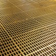 Stock Photo: Iron grate on floor