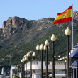 Promenade in the city of Cartagena, Spain — Stock Photo