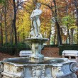 Ornamental fountains of the Palace of Aranjuez, Spain - Stockfoto