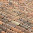 Old clay tiles — Stock Photo