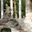 Monument in the gardens of Aranjuez Royal Palace - Foto Stock