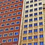 Modern buildings in Madrid, Spain — Stock Photo #9154550