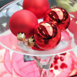 Stock Photo: Christmas centerpieces