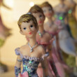 Stock Photo: Fairies and princesses in ceramics
