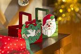 Christmas centerpieces — Stock Photo