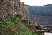 Medieval Templar Castle of year 1178 in Ponferrada, Spain — Stock Photo