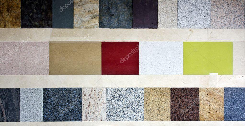 Amostras de v rios tipos de m rmore fotografias de stock for Tipos de marmol y precios