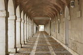 Hallway in Royal Palace of Aranjuez (Spain) — Stock Photo