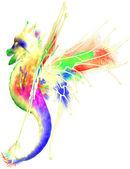 Cute Colorful Dragon — Stock Photo