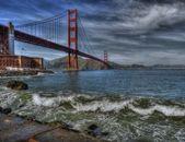 Golden Gate Bridge in HDR — Stock Photo