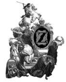 Letter Z. — Stock Photo