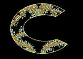 Letter C. — Stock Photo