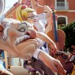 Fallas fest figures on Valencia province - Stock Photo