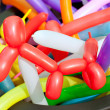 Balloon twisting art children workshop — Stock Photo #10582833