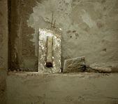 Herramientas de grunge sucio cemento montar llana — Foto de Stock
