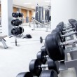 Fitness club weight training equipment gym — Stock Photo #8510477