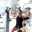 Fitness sport gym group of training - Stock Photo