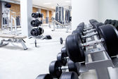 Fitness club weight training equipment gym — Foto de Stock