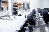Fitness club pesas gimnasio equipo — Foto de Stock