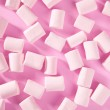 Candy pink marshmallow sweets pattern texture — Stock Photo