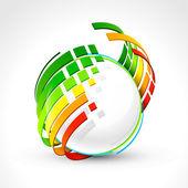 Abstracte energie pictogram — Stockvector