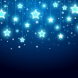 Christmas background with stars — Stock Vector #8188088