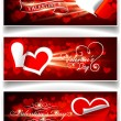 Royalty-Free Stock Vector Image: Banners on Valentine\'s Day