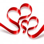 Valentine hearts. Vector illustration — Stock Vector