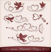Icons for Valentine's Day — Vector de stock