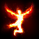 Flaring angel — Stock Photo #9172929