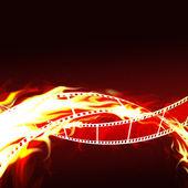 非常に熱い映画 — ストック写真