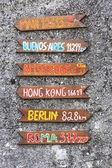 Signposts — Stock Photo
