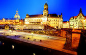 Dresden by night — Stock Photo