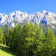 Landscape in the Dolomites — Stock Photo