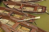 Barche in legno — Foto Stock