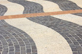 Decorative paving stones — Stock Photo