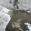 Winter River — Stock Photo #9031018