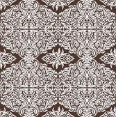 цветочный бесшовные обои — Cтоковый вектор