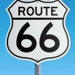 Route 66 sign — Vettoriale Stock #10053379